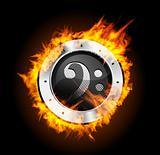 Speaker Grill Fire