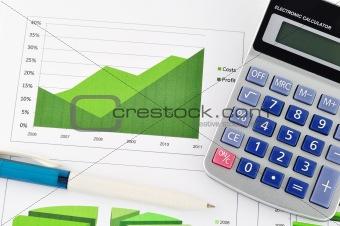 business chart market