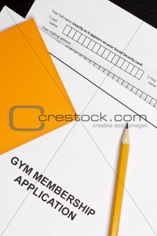 Gym Membership Application