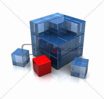 cube assembling
