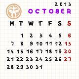 october 2013
