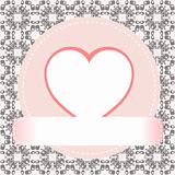 Valentine's day vector background heart