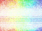 Multicolor abstract  tile background. Square pixel mosaic vector