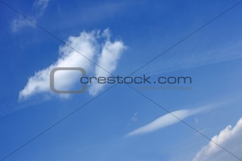 Various types of clouds