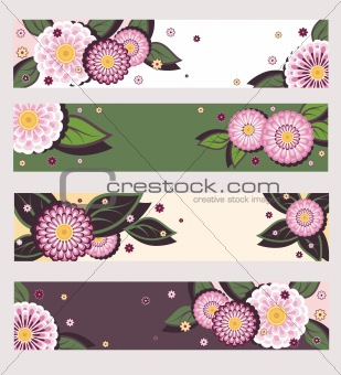 Daisy banners