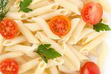 Close Up Of Pasta and tomato