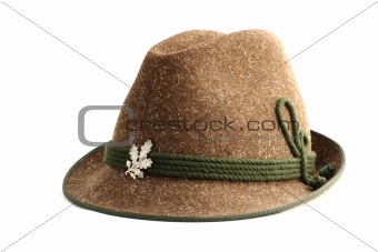 old hunting hat