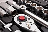 kit of metallic tools