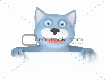 Cat with panel