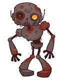 Rusty Zombie Robot