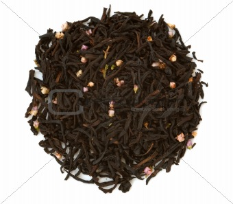 Aromatized black tea