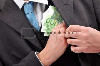 Paying in cash