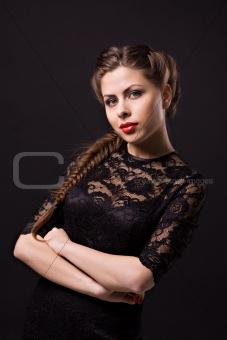 Beautiful sensuality woman