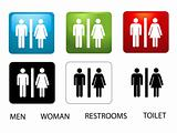 Women&#39;s and Men&#39;s Toilets