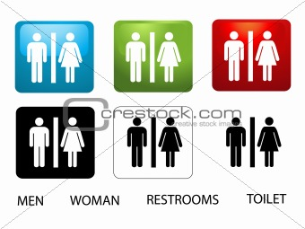 Women's and Men's Toilets