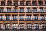 Facade and balcony
