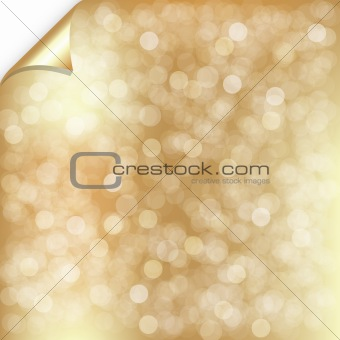 Gold Backgrounds With Bokeh