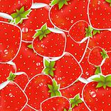 Labels Strawberry