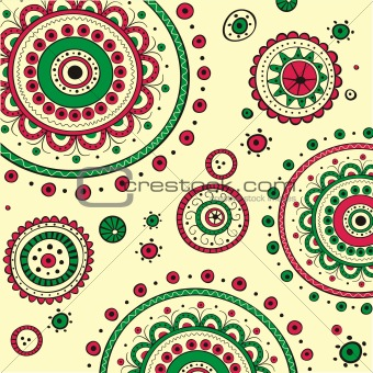 Abstraction ethno background - vector