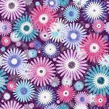 Seamless floral vivid pattern