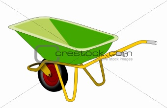 Green Wheelbarrow