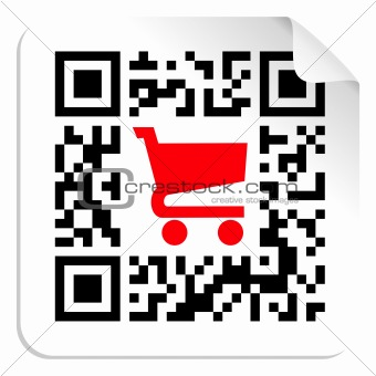 Buy label sign QR code