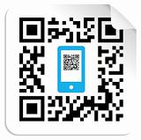 QR code mobile label