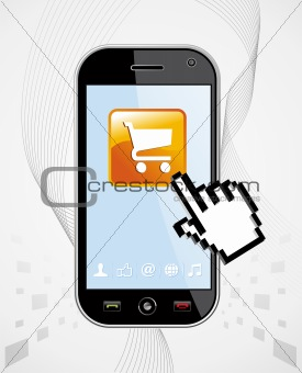 Smartphone buy application