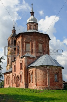 Old russian orthodox church