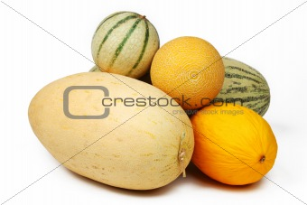 different melon
