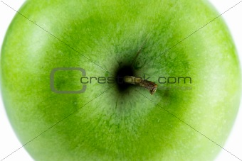 close up of an apple