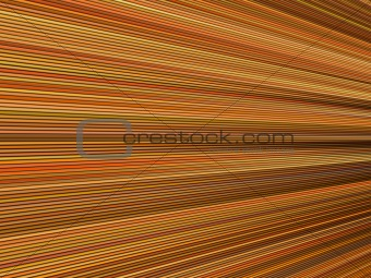 3d orange color abstract striped backdrop render