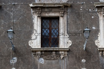 A baroque window