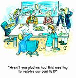 Conflict meeting
