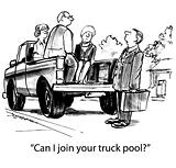 Truck pool