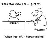 Talking scale