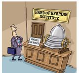 Hard of hearing