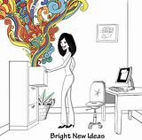 Bright creativity