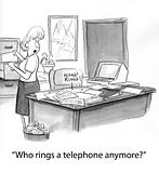 Ring telephone
