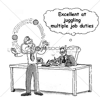 Job juggling