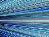 3d blue color abstract striped backdrop render