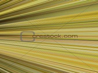 3d yellow color abstract striped backdrop render