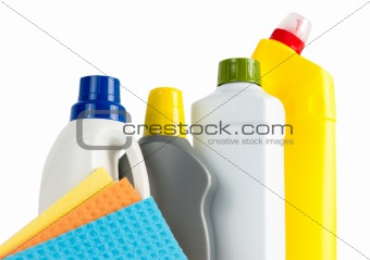 Cleaning Supplies And Cloths