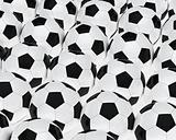 many footballs