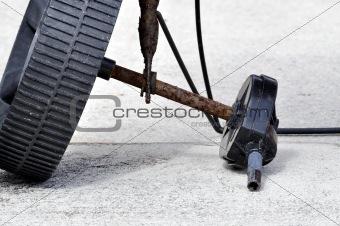 Broken Axle