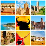 Spanish collage