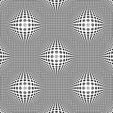 Seamless vector pattern of group curved elements