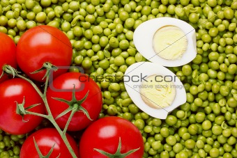 Peas and Tomatoes