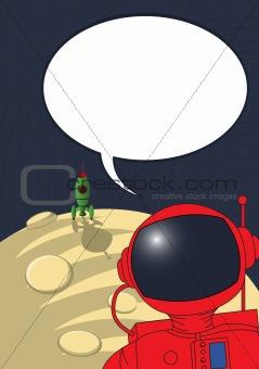 Stranded astronaut