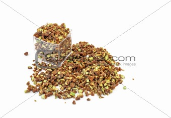 Crumbled crunchy Caramelized Pistachio